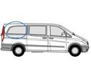 Mercedes Vito 2015 onwards L3 (LWB)  O/S Privacy  Rear Window Glass