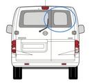 Nissan NV200 2009 onwards  O/S Privacy  Back Door(s) Window Glass