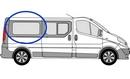 Renault Trafic 2001 - 2014  L3 (LWB) O/S Privacy  Rear Window Glass