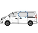 Renault Trafic 2014 onwards  N/S Privacy  Front Window Glass