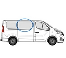 Renault Trafic 2014 onwards  O/S Privacy  Front Window Glass