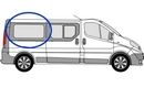 Nissan Primastar 2002 - 2014  L3 (LWB) O/S Privacy  Rear Window Glass