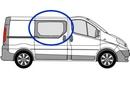 Nissan Primastar 2002 - 2014  O/S SLD Privacy  Front Window Glass