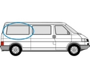 Volkswagen Transporter 1990 - 2003  L3 (LWB) O/S Privacy  Rear Window Glass