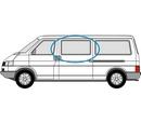 Volkswagen Transporter 1990 – 2003 Half Slider N/S Privacy  Front Window Glass