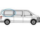 Volkswagen Transporter 2002 - 2015  L3 (LWB) O/S Privacy  Rear Window Glass