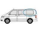 Volkswagen Transporter 2002 - 2015  L1 (SWB) N/S Privacy  Rear Window Glass