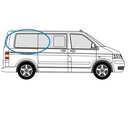 Volkswagen Transporter 2002 - 2015  L1 (SWB) O/S Privacy  Rear Window Glass