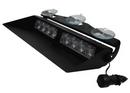 High Intensity LED Micromax II Dash Light - 25 Flash Patterns
