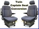 Twin Captain Van Seat Conversion Kit - Citroen Relay 06 - onwards