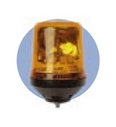 High Performance Rotating Beacon 12V 1 Point Fixing