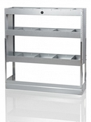 Galvanised Steel Racking Type G - 3 Shelf Unit with Dividers