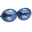 PAIR OF OVAL 3.5 DRIVING LIGHTS