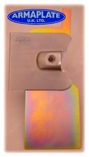Armaplate Lock Protection Kit for OffSideLoad Door - Blank - Peugeot Expert 2007 onwards