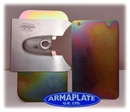 Volkswagen VW T5 SIDELOAD Driver Door (Fits Both Sides) Armaplate Lock Protection Kit
