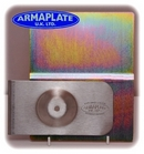 Ford Transit  Mk6/7 NSF (KEYHOLE) Door Armaplate Lock Protection