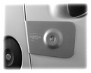 LDV Maxus Rear Door Armaplate Lock Protection kit