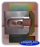 Merc Sprinter (Pre 2006) OSF Driver Door Armaplate Lock Protection Kit