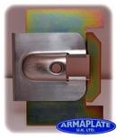 Merc Vito (Pre 2004) NSF Passenger Door Armaplate Lock Protection