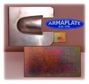 Merc Vito (MkII 2004 onwards) REAR Door Blank Armaplate Lock Protection kit (No Keyhole)