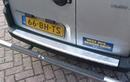 3D Chequerplate Aluminium Bumper Protection - Fiat Doblo 2001