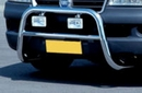 Front Protection Polished A-Bar - Fiat Ducato /Boxer/Relay Mk2 2002-06