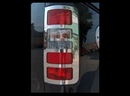Stainless Steel Rear Light Cover Set - Ford CONNECT 03-10