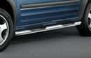 Cobra 60mm Stainless Steel Tube Side Bars with Integrated Step  - Ford Connect 2003