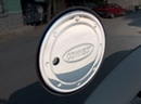 Stainless Steel Hand Polished Fuel Cap Cover - Ford Connect 2003