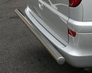 Stainless Steel Vanstyle Rear Bar with Chrome End Caps - Ford Transit