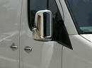 Stainless Steel Mirror Cover Set - Merc Sprinter