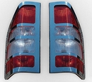 Stainless Steel Rear Light Guard Set - Merc Sprinter