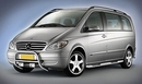 Cobra EU Approved Stainless Steel Front Protection A-Bar - Merc Vito 2003