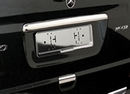 Stainless Steel Grab Handle Cover ( Tailgate Only ) - Merc Vito Viano Van 2003