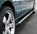 Stainless Steel Polished VS Styling Sidebars - Nissan Interstar 1998-07 - LWB