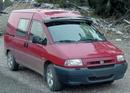 Acrylic Sun-Visor - Smoke Colour - Fiat Scudo 2006