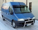 Acrylic Sun-Visor Low and High Roof - Smoke Colour - Fiat Ducato 2006
