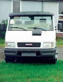 Acrylic Sun-Visor - Smoke Colour - Iveco Daily Low Roof 1998