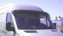 Acrylic Sun-Visor - Smoke Colour - Merc Sprinter Van 2006