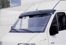 Acrylic Smoked Coloured Sun Visor - Opel / Vaux Movano 1999 Onwards