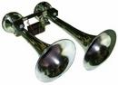 Two Tone Chrome Finish Diesel Airhorn - Loud 170dB diesel train sound