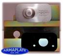 Citroen Berlingo 2008 on - OS LOAD DOOR (BLANK) Passenger Door Armaplate Lock Protection Kit