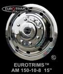 Stainless Steel Wheel Trims - Eurotrims Elite 15