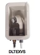 External Vertical Shower Kit - White