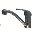Ducale Single Lever Mixer Tap - Satin Chrome