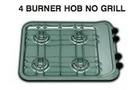 4 BURNER HOB (NO GRILL) - 470mm x 380mm