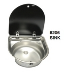 Integrated Round Sink Unit with Cover
