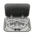 2 BURNER HOB  COVER with COVER