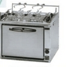 Full Marine Spec Cooker 4 Burner (Gimbed)