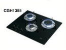 FLUSH MOUNTING GLASS HOB with 3 BURNERS